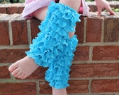 Ruffled legwarmers. Girls, womens, infant, toddler, size 3m, 6m, 12m, 18m, 2T, 3T, 4T, 5, 6, 7, 8, 9, 10, 12, adult