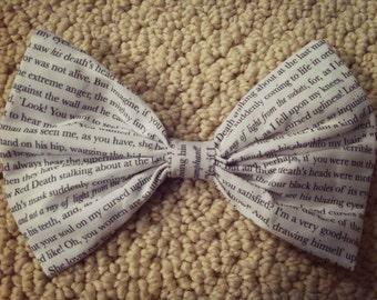 Phantom of the Opera Hair Bow