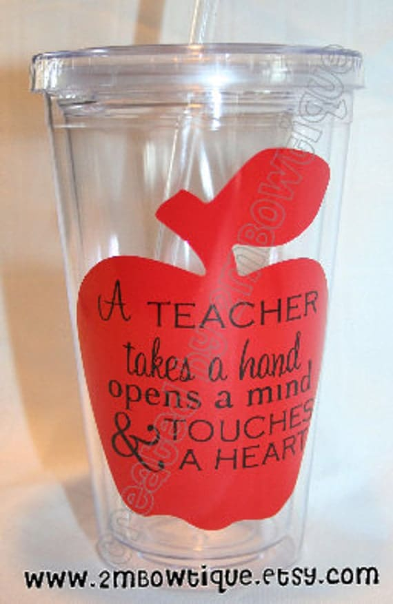Items Similar To A Teacher Takes A Hand Tumbler Cup For