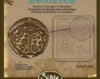 Sizzix DecoEtch Die - Sand and Sea by Vintaj - NEW DESIGN