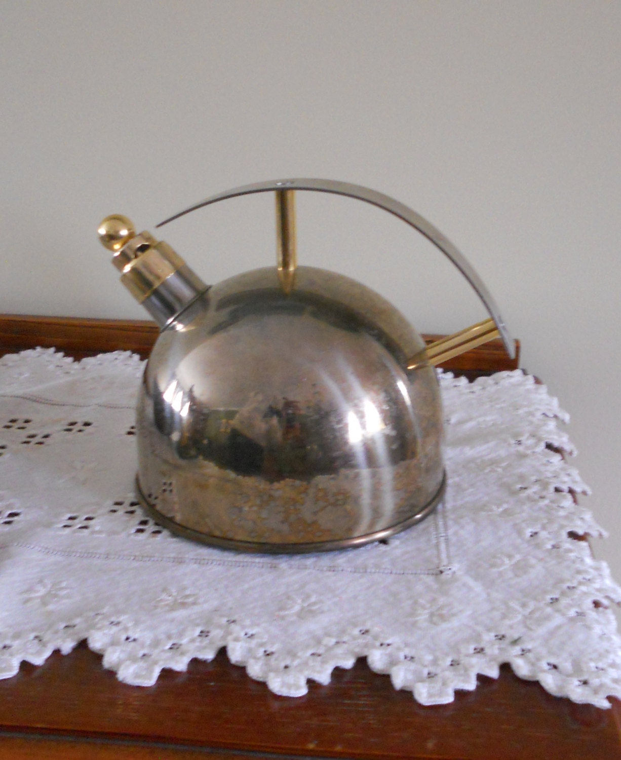 Metal tea kettle chantal saturn steampunk by luluandgandore - Chantal teapots ...