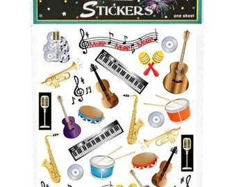 Musical Stickers (2 Sheets)