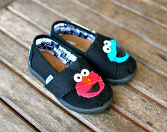 Popular Items For Elmo Shoes On Etsy