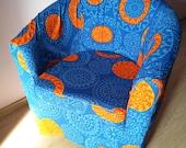SALE* Slipcover for IKEA 's Tullsta armchair, beautiful design, strong cotton fabric *