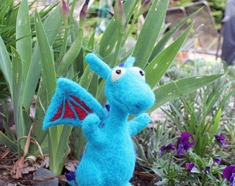 MADE TO ORDER Needle felted Dragon