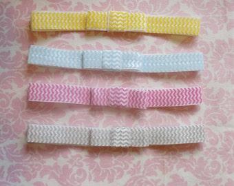 Chevron print headband/ Newborn headband/ baby headband/ girls headband