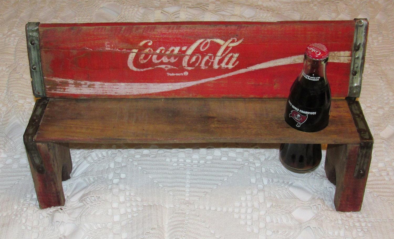 1980 Vintage Wooden Coca Cola Bench