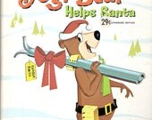 Hanna Barbera Yogi Bear Helps Santa Vintage Whitman Top Top Tale Illustrated by Lee Branscome