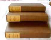 RESERVED SALE 30% OFF Works by George Eliot Life and Letters Volume I, Ii and Iii