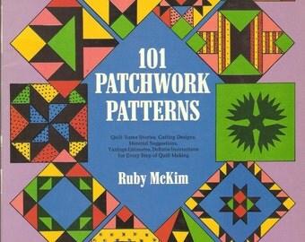101 Patchwork Patterns by Ruby McKim