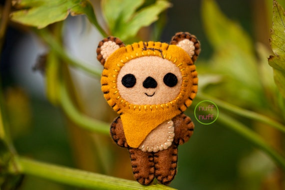 Felt Wicket, the Ewok - Pocket Plush Toy