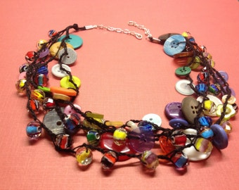 VINTAGE BABB necklace with earrings