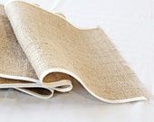 Burlap Table Runners rustic wedding 14 inches wide