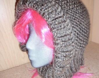 Loom Knit Pixie Hood Pattern  Instant Download