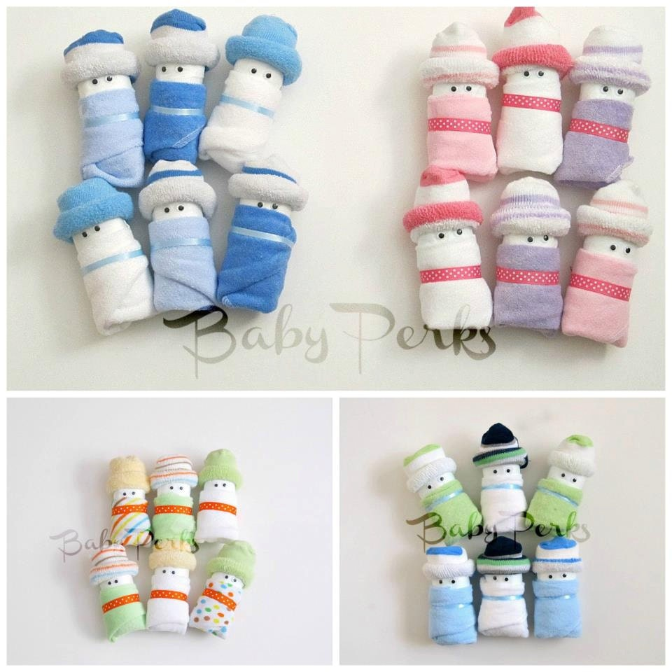 Diaper babies baby shower decorations baby shower gift for Baby shower decoration pics