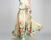 spring dress summer dress women clothing chiffon dress womens clothing women dress womens dresses chiffon long dress FGK128