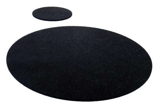 Items Similar To Recycled Tyre Rubber Placemat