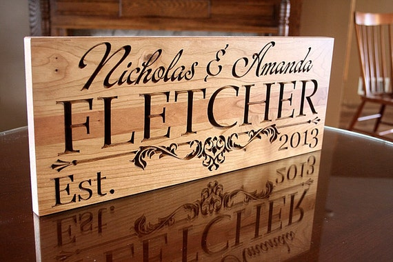 wedding anniversary gift rustic home decor sign 5yr anniversary gift man cave decor custom wood sign