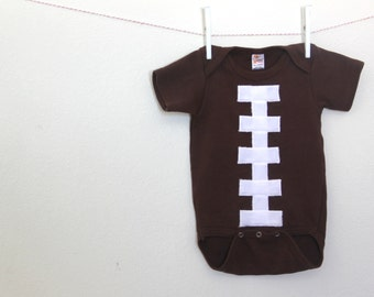 Football Bodysuit, Baby Football Costume, Halloween Costume Football
