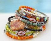 Naomi... Memory wire bracelet... Original OceanBead style.