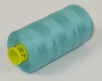 Sewing Thread, Aqua Blue 192  Gutermann Superior Sewing Thread on 1094 Yard Spool