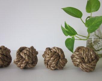 set of 6 sailors rope knots