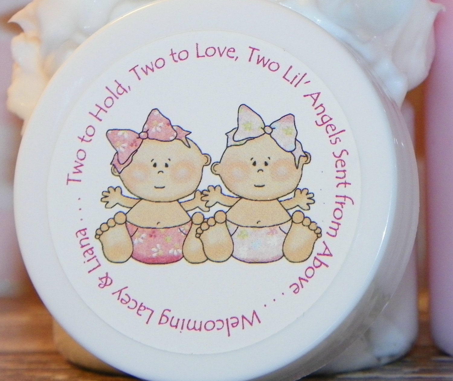 twin shower favors baby shower favors twins by hucklebeehollow