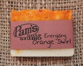 Orange Swirl Soap