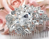 Bridal Hair Comb Rhinestone Hair Comb Wedding Comb