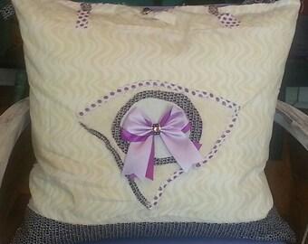 Tattered Chic Custom Made Pillow