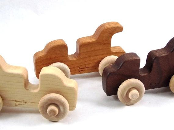 Classic Convertible Wooden Toy for Babies and Toddlers