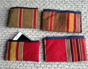 African Fabric Pouch