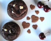 NEW-  Valentines Day Gift - Be Loved Black Forest Cookies 1 Dozen - QsGoodies