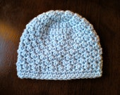 PATTERN:  Textured Beanie, easy crochet PDF, InStaNt DowNLOaD, basic hat, Sizes newborn to Adult, Permission to Sell