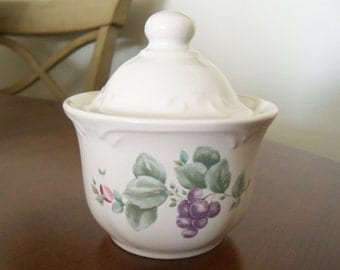 Vintage China Pfaltzgraff Sugar Bowl Germany