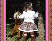 Bandana Skirt for all the Little Cowgirls - All Colors - 6 to 24 months Sizes 2 to 6