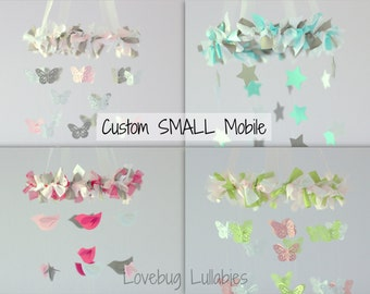 DESIGN your OWN Mobile- SMALL Size- Personalize your own Nursery Mobile