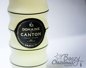 Canton Christmas Ornament-- Domaine de Canton French Ginger Liqueur Themed Christmas Tree Ornament.