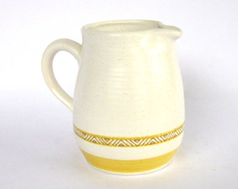 "Vintage Franciscan ""Hacienda Gold"" Creamer Pitcher, Mint Condition 1970's Earthenware"