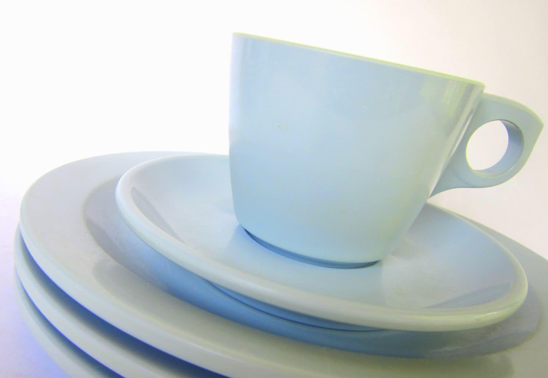 Items similar to mid century blue boontonware melamine for Cuisine melamine
