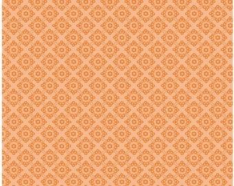Dress Up Days by Doohikey Designs, Orange Damask, 1 yard Cut, Riley Blake Designs