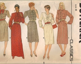 Butterick Sewing Pattern 6004 - Misses' Dress (8)