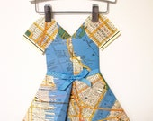 Paper Dress - Miss New York