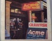 Acme Oyster House Coaster New Orleans