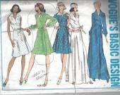 Vogue Basic Design 1057 Misses Dress. Size 14