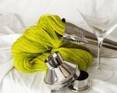 Bottoms Up - Caipirinha (Lime Green) - Wool Yarn Sport Wt