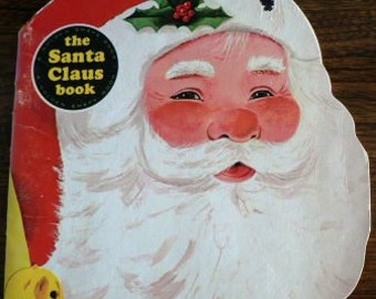 vintage Christmas ... SANTA CLAUS BOOK by Richard Scarry 1965  book ...