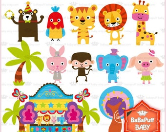 Buy 2 Get 2 Free ---- Baby Animals and Stage ---- Personal and Small Commercial Use ---- BB 0421