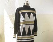 Tunic Sweater / Vtg 80s /...