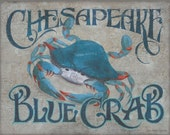 Chesapeake Blue Crab  Print